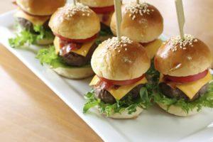 Мини-бургер с говядиной