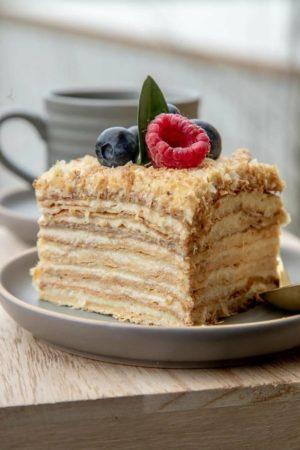 Пирожное наполеон 120гр